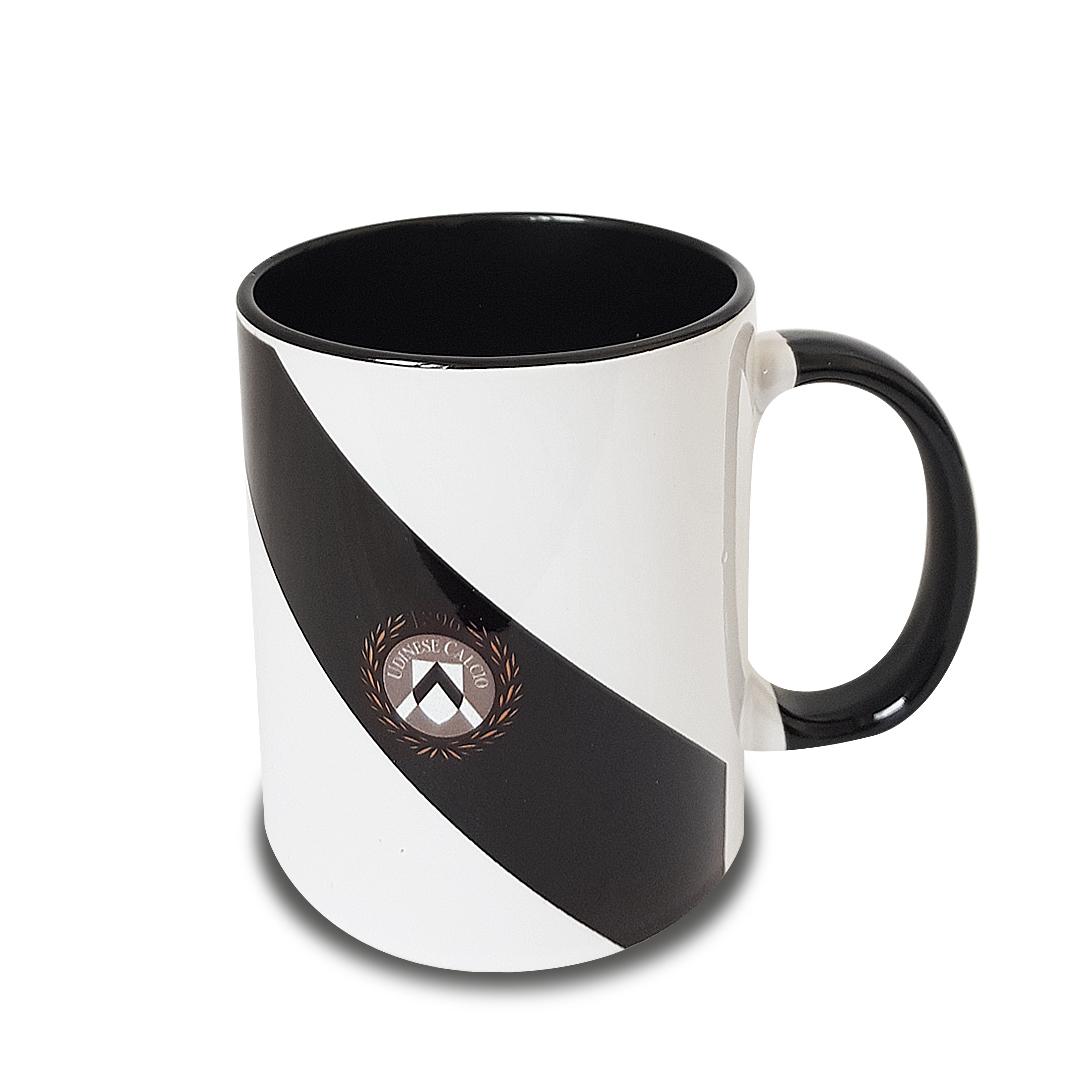 Mug Udinese con manico nero