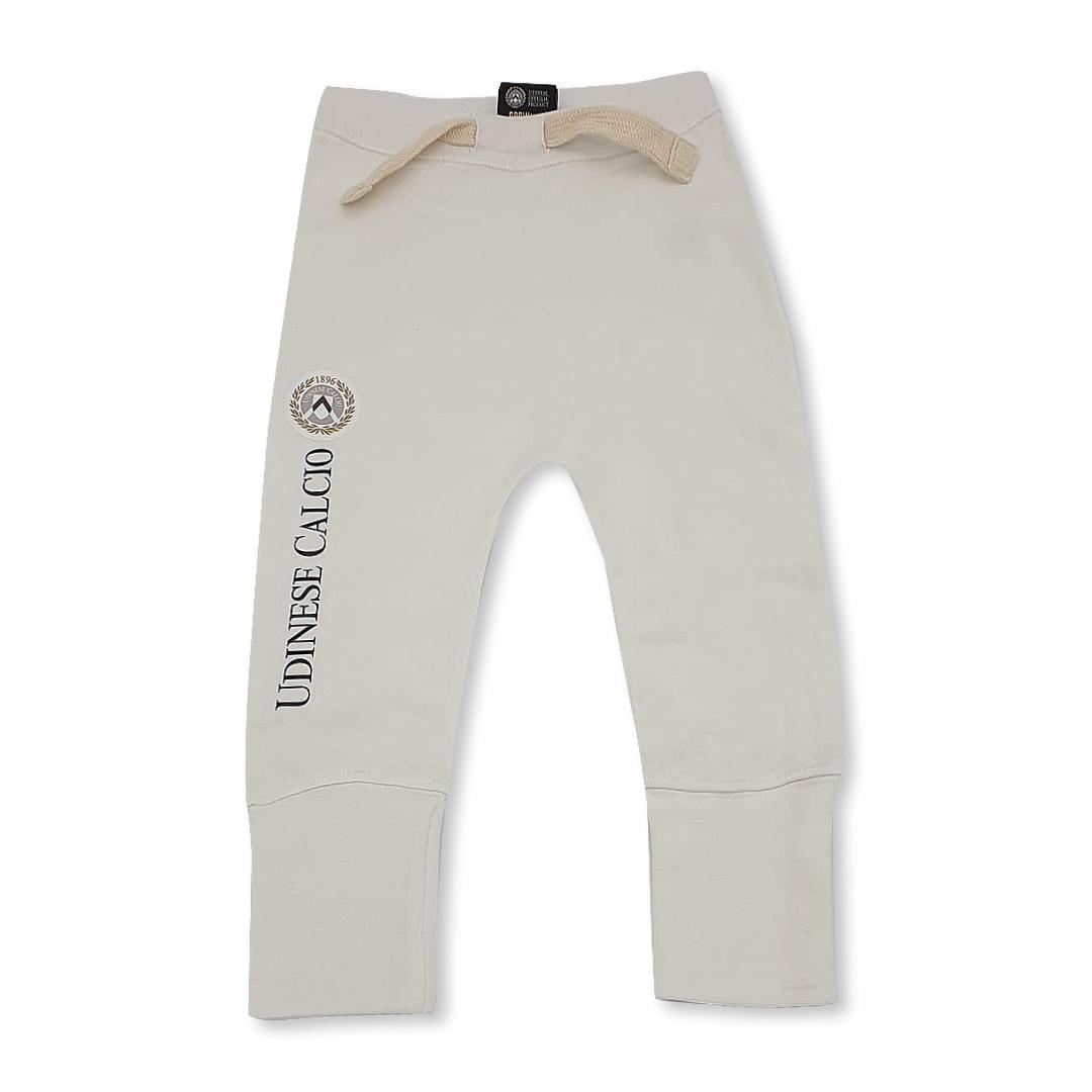 Pantalone Felpato Baby Bianco