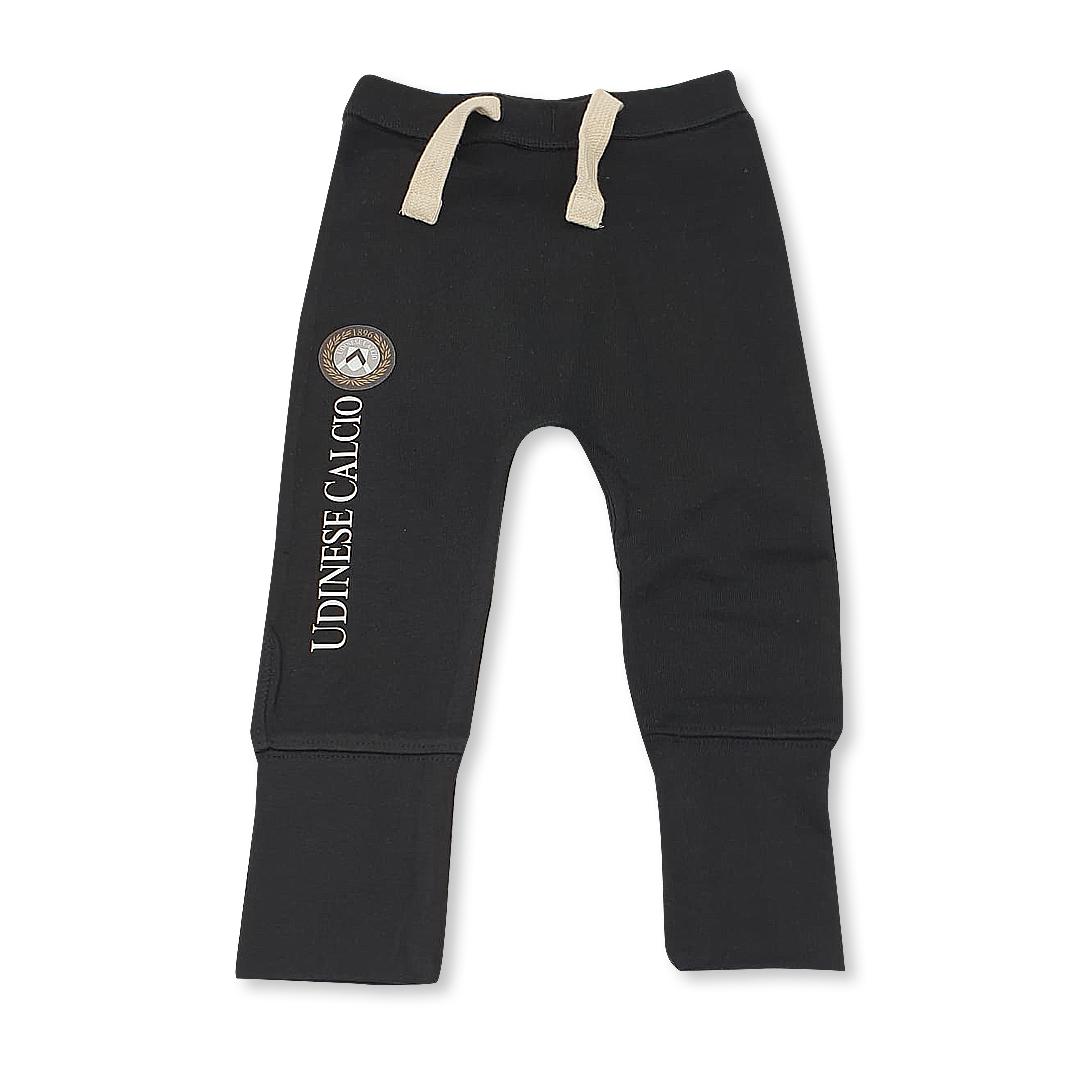 Pantalone Felpato Baby Nero