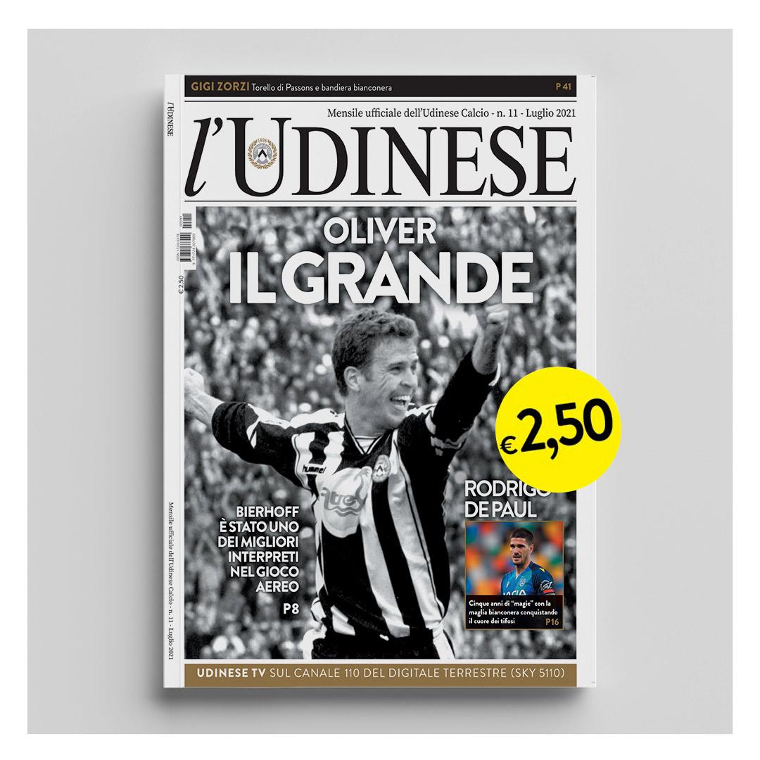 L'Udinese n. 11 - Luglio 2021