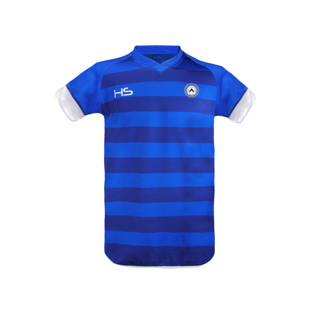 Maglia gara Junior blu Personalizzabile 2016/17-HUDSO-219