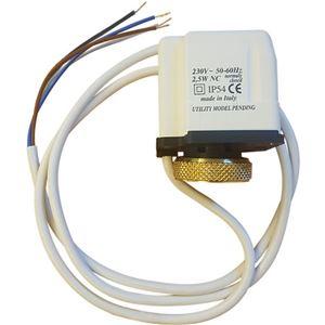 NC 4 Attuatore elettrotermico- 4 fili per collettori di riscadamento a PAVIMENTO